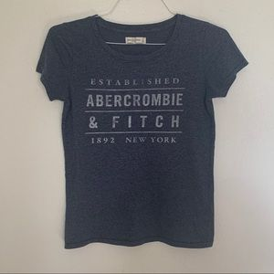 Abercrombie and Fitch graphic tshirt
